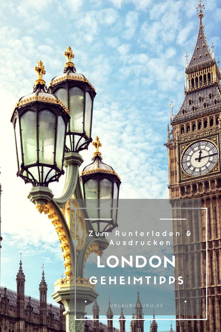 Meine London Geheimtipps  helfen euch dabei das Beste aus eurem Städtetrip nach England herauszuholen. Ich zeige euch die geheimen Ecken der Stadt, verrate euch, wo ihr am besten Essen gehen solltet und welche Pubs ihr nicht verpassen dürft. Praktisch: Ladet euch die Tipps kostenfrei runter und habt euren London Reiseführer so immer dabei!