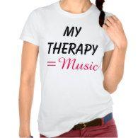 #Women #Music #Therapy #T-Shirt