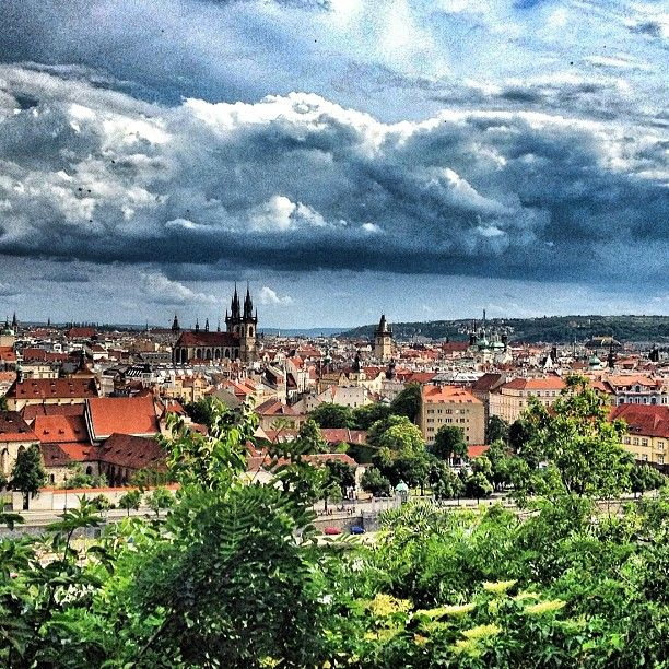 Prague on Canvas