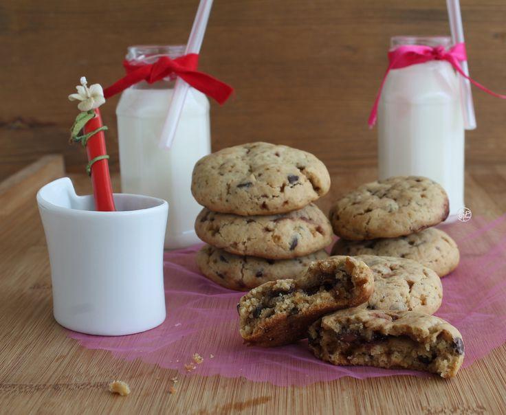 Cookies con Nutella e cioccolato senza glutine, molto golosi, per i fan del cioccolato! Pronti in poche mosse, faranno la felicità di grandi e piccini!