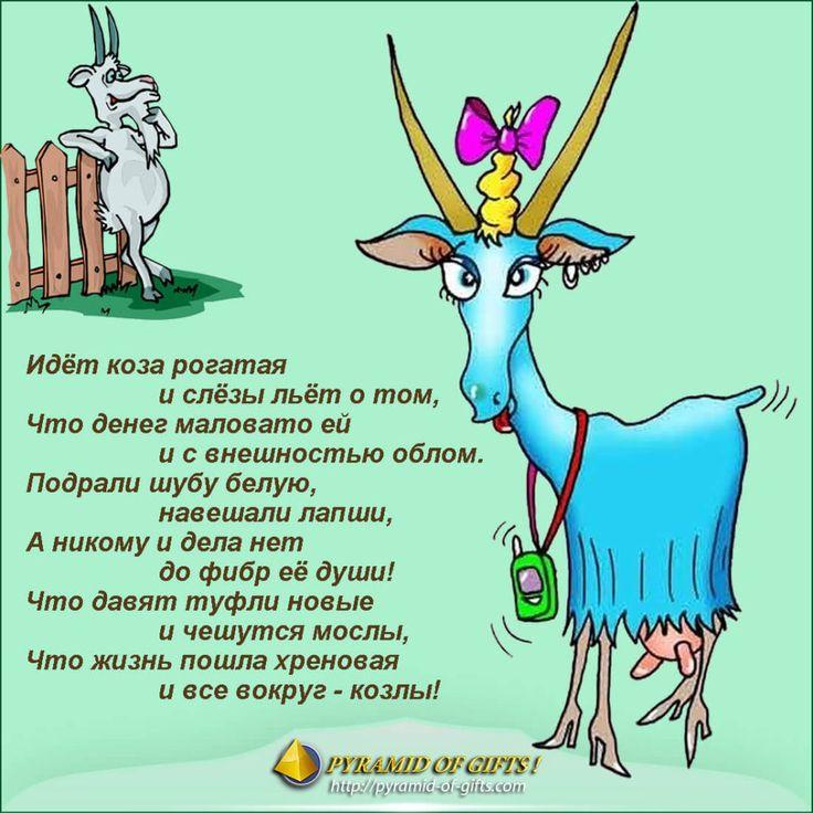 Поздравления с днем козы прикольные