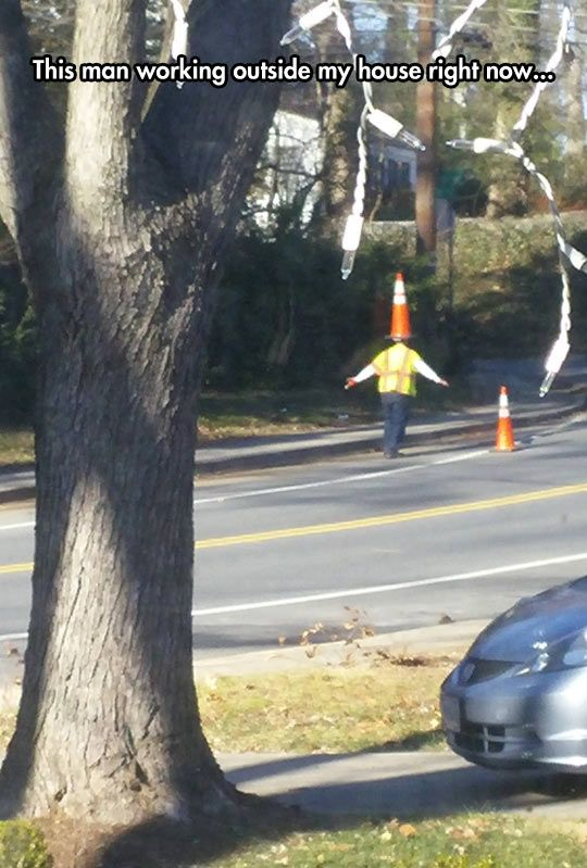 He's A Road Work Wizard