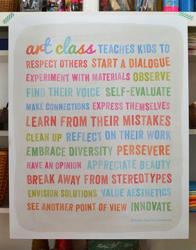 Art Class Poster