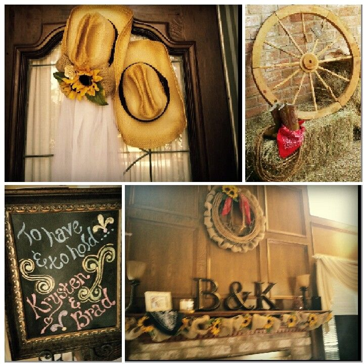 Cowboy Cowgirl Wedding Ideas: Western Bridal Showers, Bridal