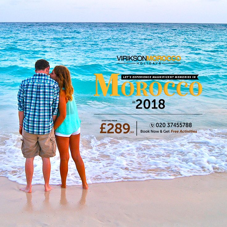Make memories that lasts forever in mind, capture some beautiful moments with your partner in #Morocco. Book your trip with #ViriksonMoroccoHolidays today and get free activities.  To book, call us now at 020 37455788.  Our customer support team is facilitating their clients 24/7 so, feel free to contact us at any time.  #Moroccopackages #Freeactivities #Holidays #Traveling ‪#Moroccotravel #Visitmorocco #Adventures #Travelingram #Holidaypackages #Travellingmorocco #MoroccoHolidays