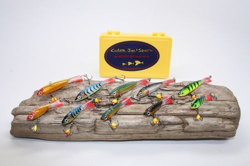 Custom Jigs and Spins has the hottest ice fishing bait, ice fishing jigs, ice fishing tackle, river fishing tackle, blades baits fishing lures,icefishing lures.