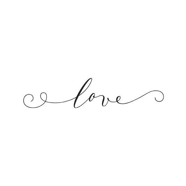 Tatouage love éphémère