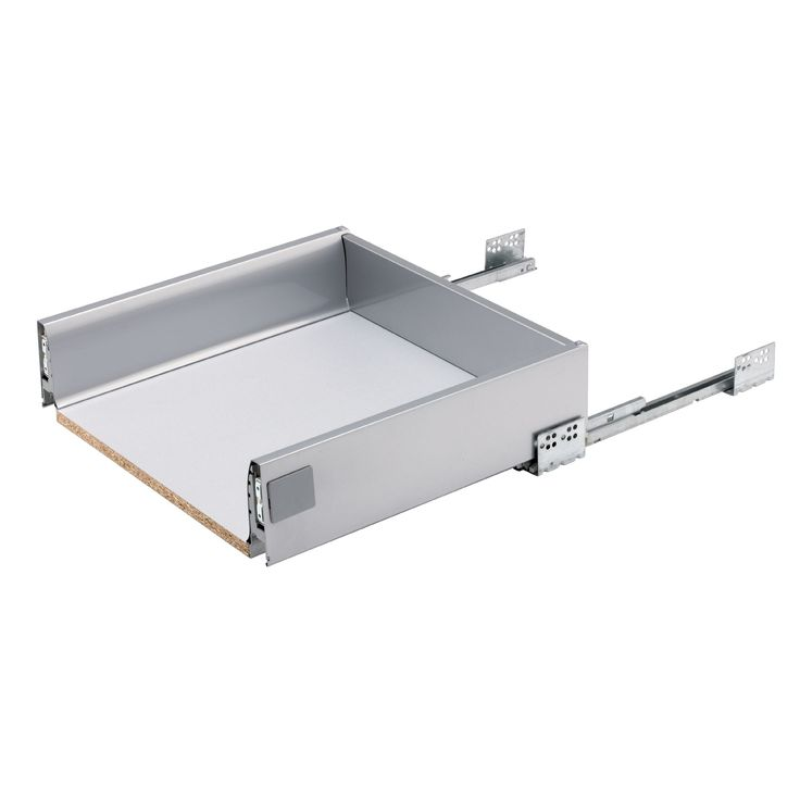 IT Kitchens Stainless Steel Effect Drawer Box (W)468mm | Departments | DIY at…
