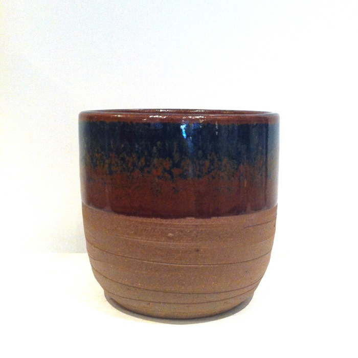 Image of Midnight Blue Stoneware Cup
