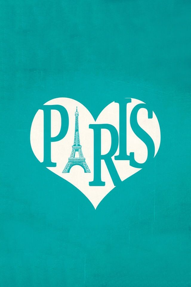 I Love Paris Wallpaper cartoon : I Love Paris iPhone Wallpaper #iPhone #wallpaper Tapety Pinterest Turquoise, Buckets and ...