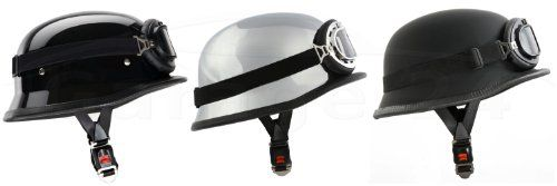 Oldtimer Stahlhelm mit Fliegerbrille Größe: (L, Schwarz matt) Stahl Schutz,http://www.amazon.de/dp/B00A78XOB2/ref=cm_sw_r_pi_dp_x7tDtb1AS4826VQJ