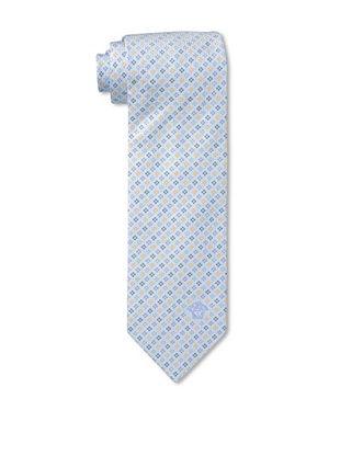 59% OFF Versace Men's Micro Block Tie, Light Blue