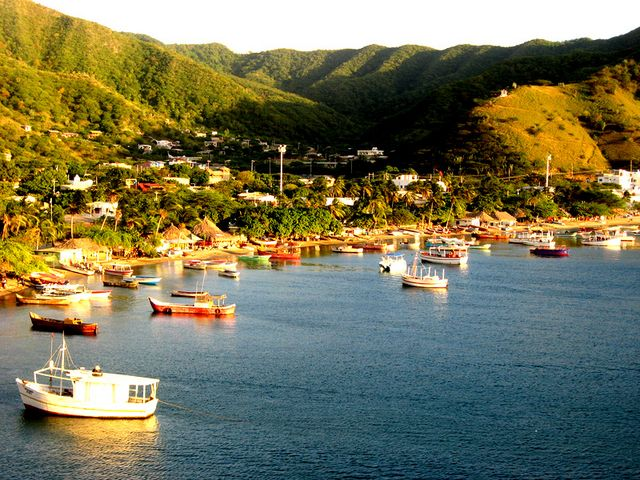 Taganga, Magdalena department, Colombia. http://www.going2colombia.com/colombia-nature.html