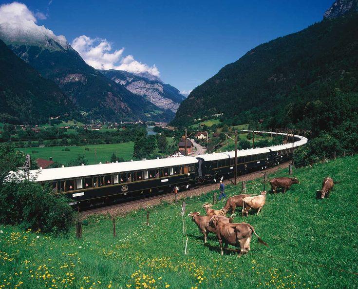 Venice Simplon Orient-Express, la campiña italiana