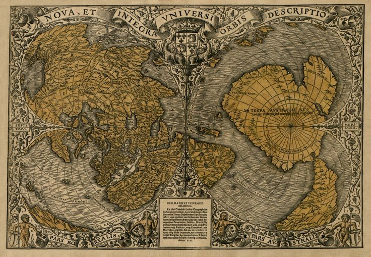 The Orontius Finaeus map was found in 1960 by Charles Hapgood and it too, apparently shows the continent of Antarctica along with the accurate outlines of Antarctic rivers that are now covered by t...