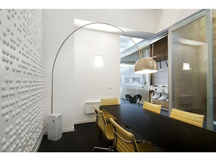 Braille Wall.  Bird de la Coeur Architects Office