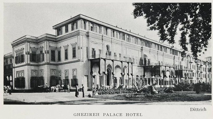 Al Gezirah Palace by the Nile was built by Khedive Ismail of Egypt in 1869 to host the French Empress Eugenie who was invited by the Khedive to attend the opening ceremony of the Suez Canal.