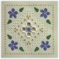 Floral Lace: Periwinkle