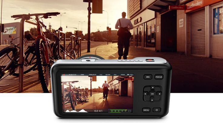Blackmagic Pocket Cinema Camera è la prestigiosa cinepresa digitale incredibilmente compatta che filma con la migliore qualità cinematografica in qualsiasi contesto. Realizza documentari, serie televisive, pubblicità e film indipendenti nello stile di una vera e propria pellicola digitale.