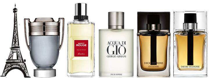 perfumes hombre mas vendidos francia