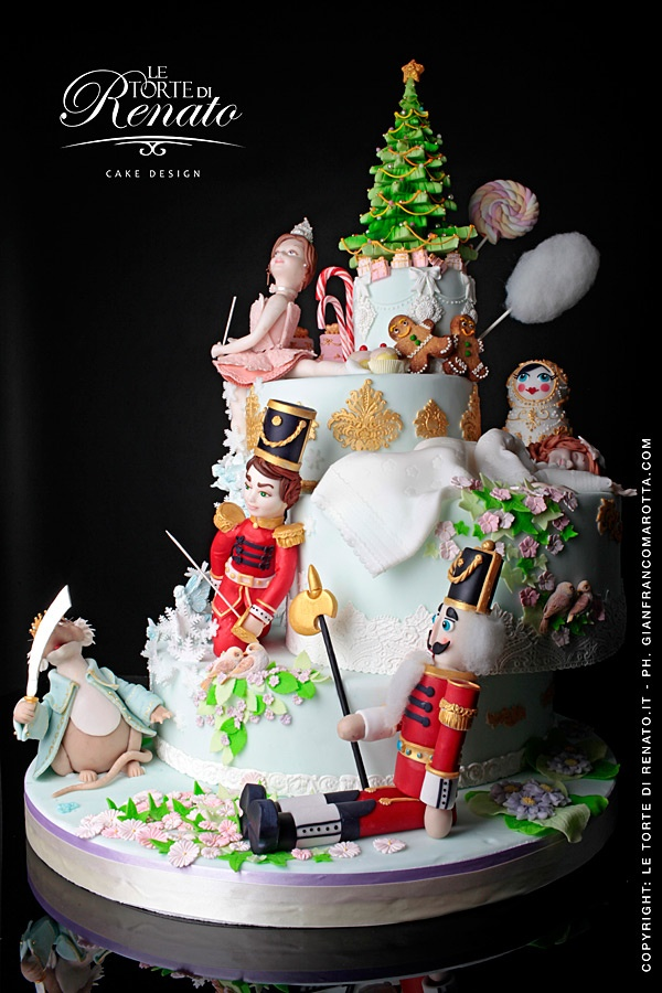 la torta de Lo Schiaccianoci - Torte da Favola