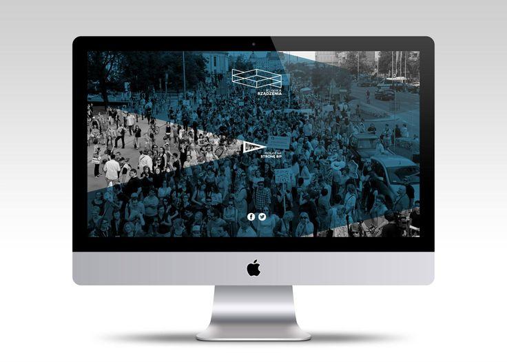 Strona internetowa dla Fundacji Klinika Rządzenia. http://www.klinikarzadzenia.org/   #webdesign #website #userinterface #minimalism #layout #www #stronywww #stronyinternetowe