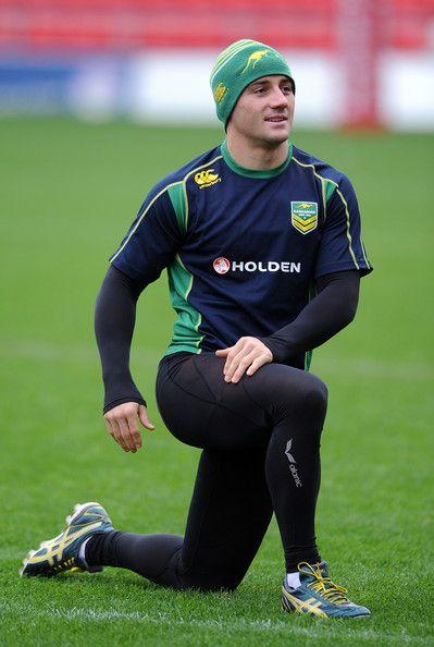 Cooper Cronk - Australia Training Session
