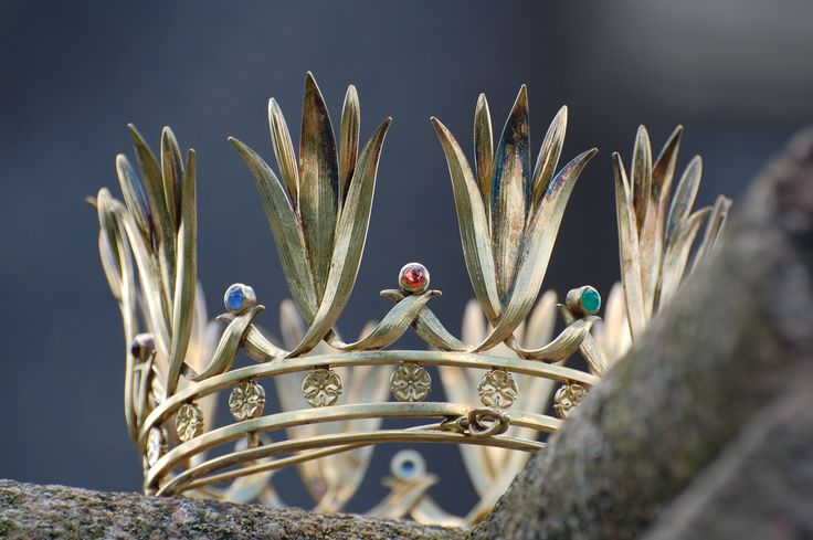 """The """"brudkrona"""" from Boxholm, Sweden. 