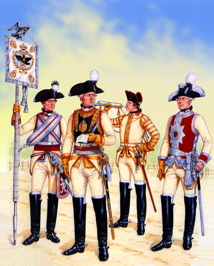 Frederick the Great's Prussian Cuirassiers, Seven Years War