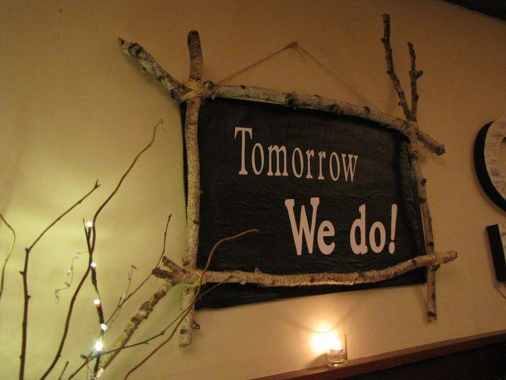 Sign Tomorrow We Do