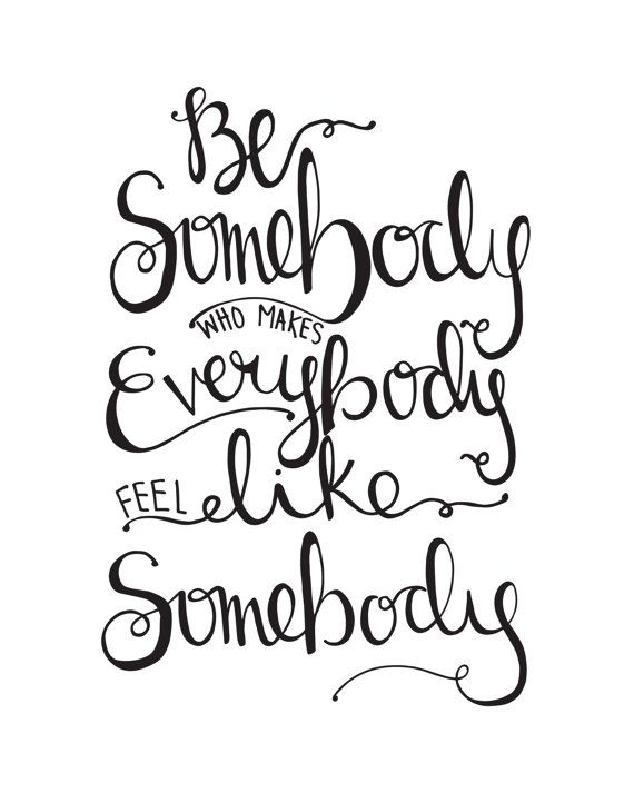 8x10 INSTANT DOWNLOAD Be Somebody Who Makes by YouAreMyHappyShop