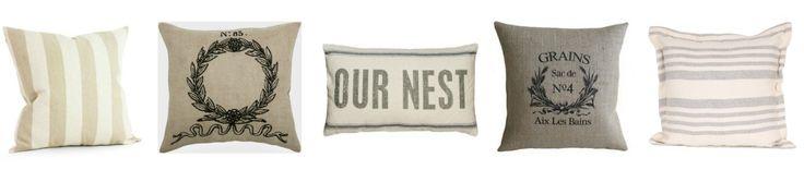 Farmhouse Throw Pillows on Amazon By One Thousand Oaks