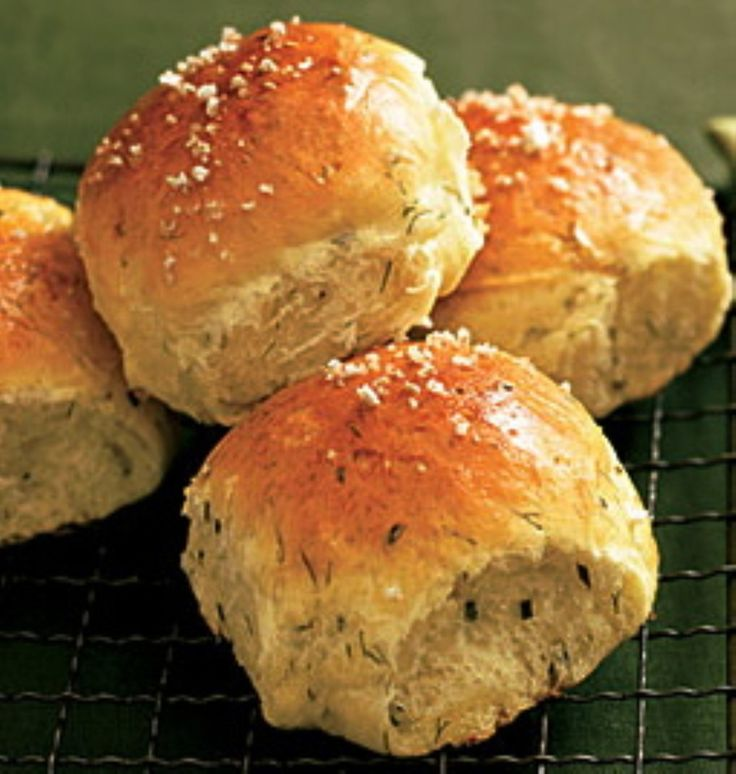 These rolls are soooo good - you could eat a dozen!  So if you are having company double the recipe! - BEST soft herb rolls for busy cooks!
