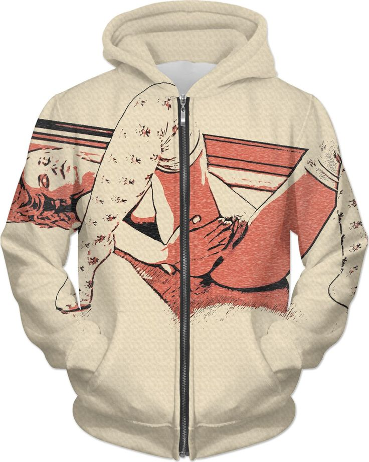 Adult erotic hoodies series - awaiting her lover return, sexy red haired girl in kinky pose and knee high socks - for more art and design be sure to visit www.casemiroarts.com, item printed by RageOn at www.rageon.com/a/users/casemiroarts - also available at www.casemiroarts.com This product is hand made and made on-demand. Expect delivery to US in 11-20 business days (international 14-30 business days). (time frames are aproximate) #hoodie #clothing #style #hoody #fashion