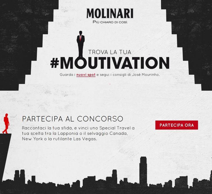 #mutivation - Mourinho sceglierà solo i migliori! Hai tempo fino al 31 ottobre. Clicca Partecipa e Viaggia! http://bzle.eu/moutivation-283-au/DM7KWF1CEJBFCLWO6H9Q Partecipa al concorso di Molinari e vinci un viaggio, scopri i premi in palio! http://guadagnonline-bionda76.blogspot.it/2015/10/partecipa-al-concorso-moutivation-di.html