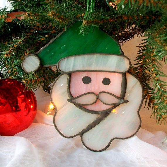 Santa Claus Stained glass : )