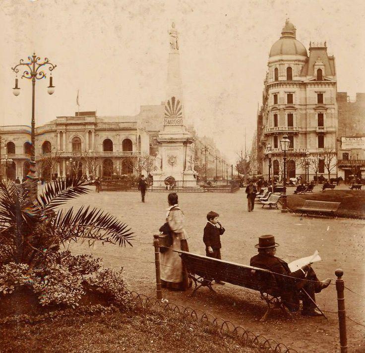 Plaza de Mayo, c.1895