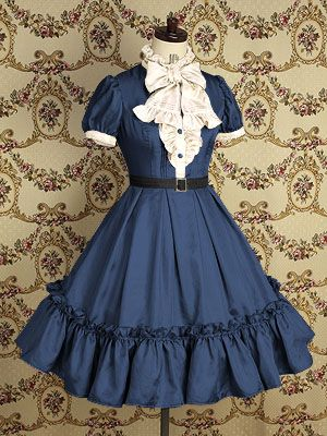 Classical Victorian Maiden Burgundy New Wine Merry Christmas Ladies Lolita Dress