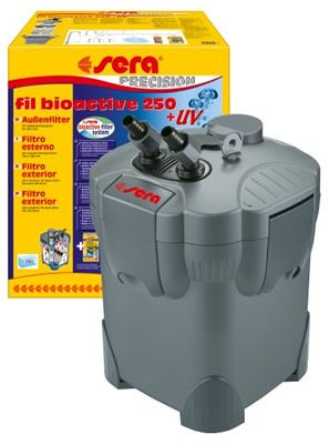 ** ENVIO GRATIS 130.50€ ** FILTRO SERA FIL BIOACTIVE 250 + UV-C EXTERIOR…