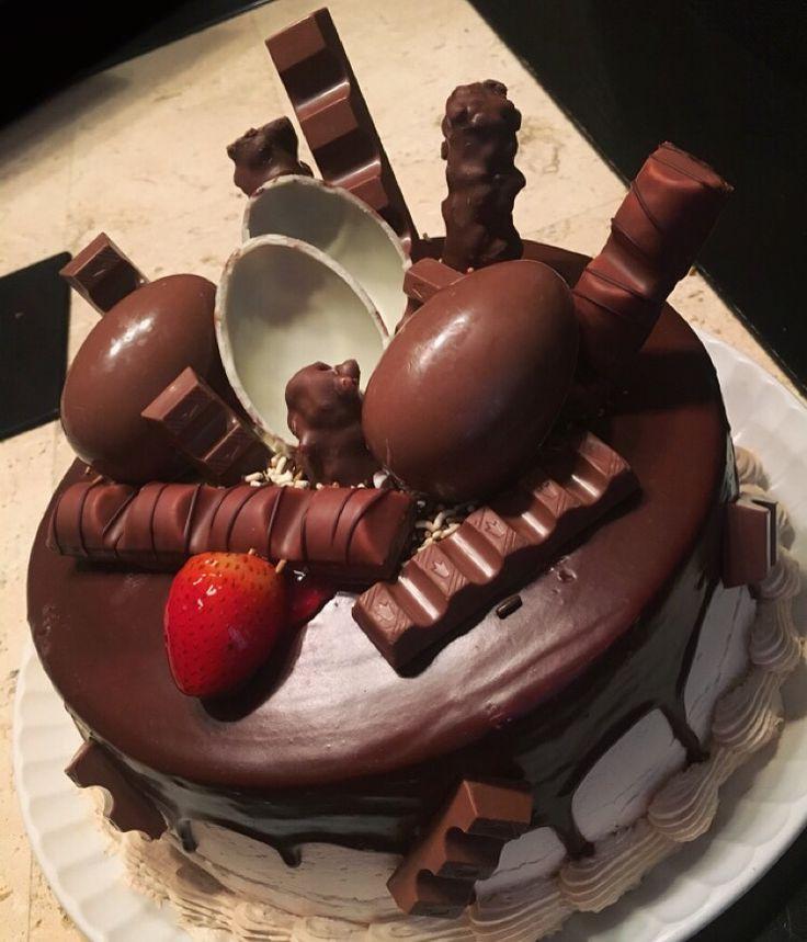 Chocolate Kinder Delice Cake Surprise