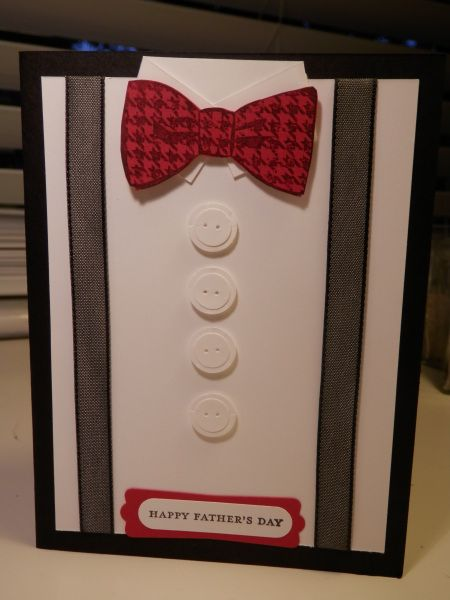 This Father's Day Card looks more like a card for a Whovian to me o_o Just s...
