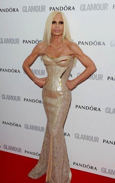 Donatella Versace Clothes