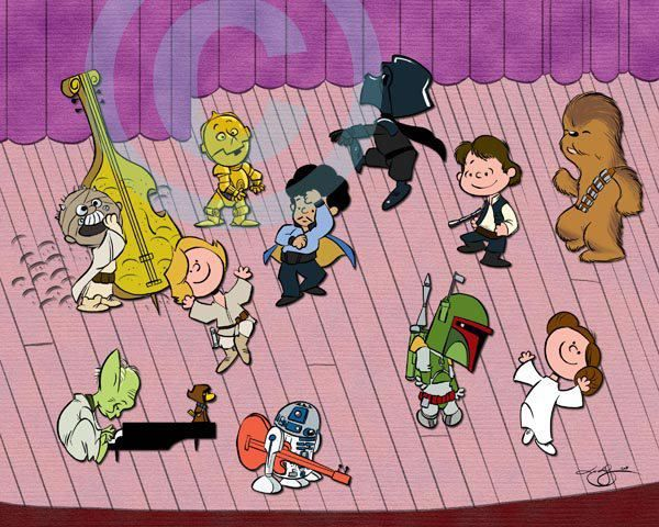 Star Wars Peanuts Christmas special