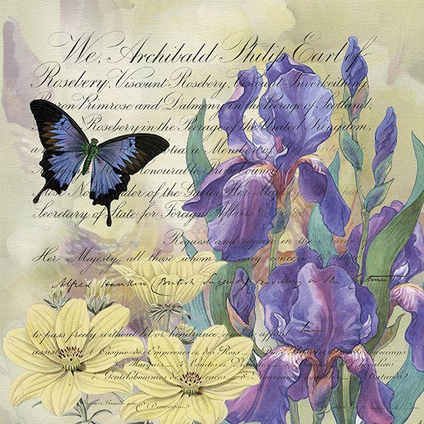 Finchley Paper Arts - Iris Flight