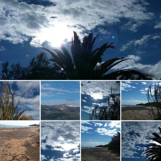 Sea sun and Sky