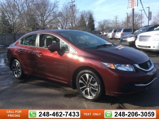 2014 Honda Civic EX 14k miles $16,897 14972 miles 248-462-7433 Transmission: Automatic  #Honda #Civic #used #cars #GollingChrysler #Waterford #MI #tapcars