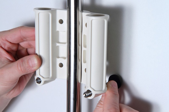 clevershower - Duschvorhang-Halterung ALBERT (Bild-2)