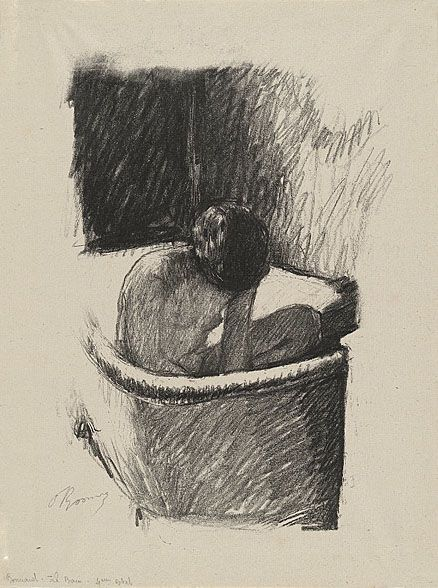 Pierre Bonnard (When artists draw in pencil, you see their true nature - and talent - come out).