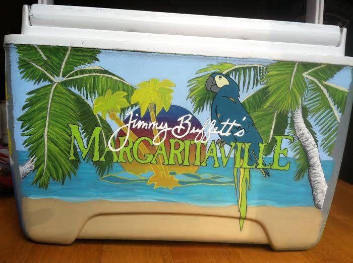 Margaritaville cooler from Cooler Connection