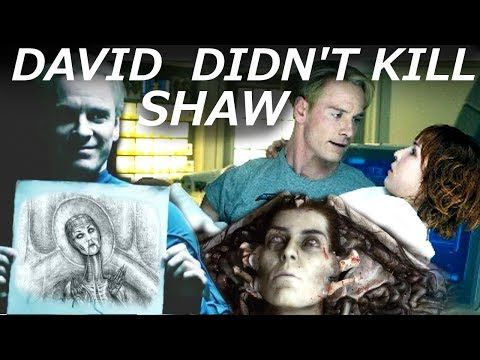 David DID NOT Kill Shaw || What REALLY Happened to Elizabeth Shaw || Alien Covenant - YouTube